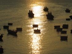 El sol nos dedica sus últimos rayos de luz dorada