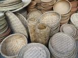 Los vietnamitas usan estas cestas y bandejas para todo