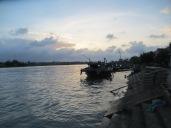 El sol se esconde en Hoi An