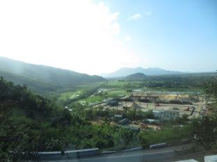Así de preciosas eran las vistas desde el bus hacia Hanoi