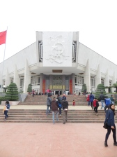 Entrada al Museo Ho Chi Minh.