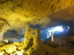 """Nuestro guía nos contó que también la llaman """"Surprise"""" Cave ya que deja a todos boquiabiertos."""