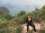 Subiendo todos los escalones hasta la cima de una pequeña isla tenías estas fantásticas vistas