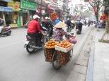 Esta puede ser una calle cualquiera de Hanoi