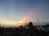 Y el cielo en ese momento es absolutamente maravilloso!