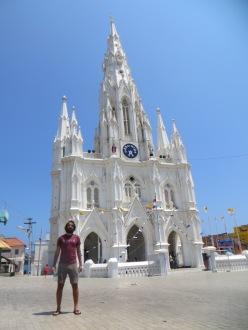 Iglesia católica en Kanyakumari