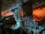 Según llegas a la segunda cámara de la cueva la ves más y más bonita