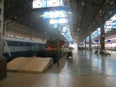 Y al día siguiente, de vuelta al tren! Esta vez con destino Jaipur
