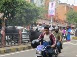 Los motoristas de Jaipur :D