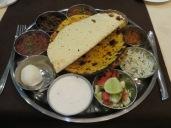 """El mejor """"Thali"""" que hemos probado hasta ahora. Simplemente, delicioso!"""