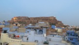 El fuerte de Jodhpur se eleva sobre la ciudad