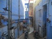 El tuk-tuk loco nos dejó a 50m del hostel y casi nos perdemos por las callejuelas... google maps no daba para tanto XD