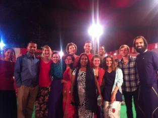 Con nuestras mejores galas para la gran boda india!