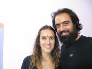 Así de ilusionados empezábamos el curso para convertirnos en profesores de yoga