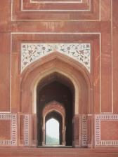 Detalle de los arcos de la mezquita